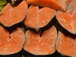 Vitamina B5 en el salmón